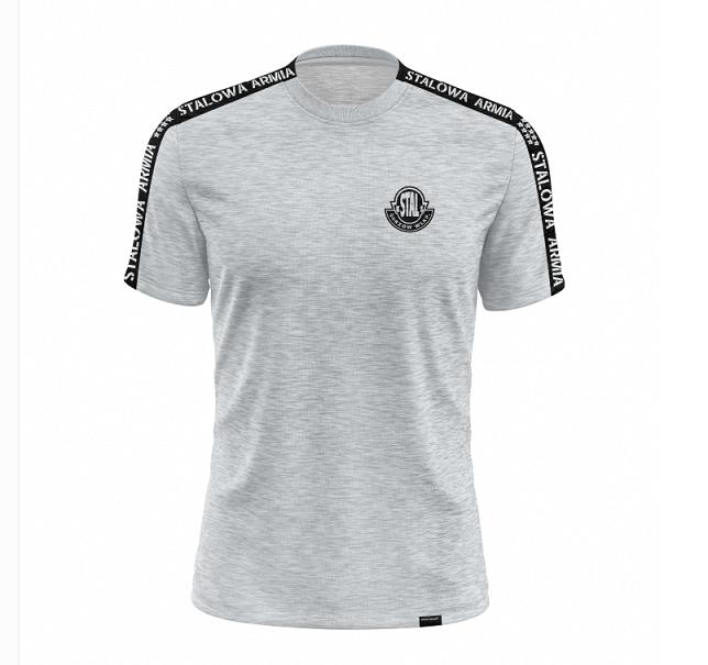 Koszulki bawełniane z personalizowaną taśmą